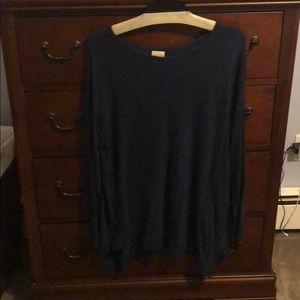 Chico's navy blue sweater